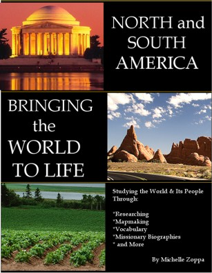 Bringing the World to Life: North and South America for elementary through junior high students