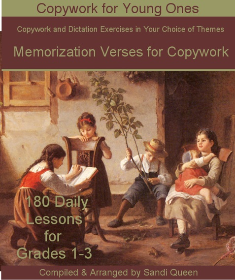 Memorization Verses for Copywork - ebook