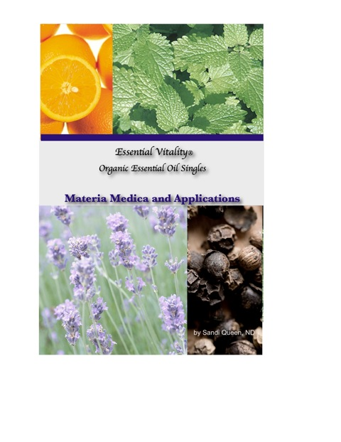 Essential Vitality® Essential Oils Singles Book