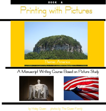 Printing with Pictures Book A - Ebook