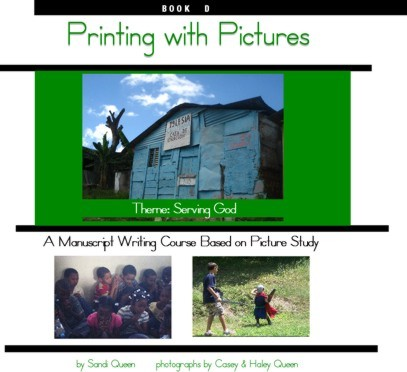 Printing with Pictures Book D