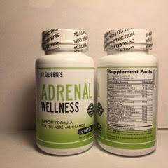Adrenal Wellness - Support Formula for the Adrenal Gland