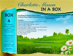 Charlotte Mason in a Box - Box 4 - Click Image to Close