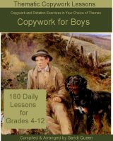 Copywork for Boys Grades 4-12 - Click Image to Close