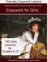 Copywork For Girls grades 4-12 -ebook