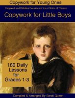 Copywork for Little Boys - ebook