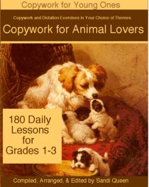 Copywork for Animal Lovers