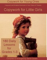 Copywork for Little Girls