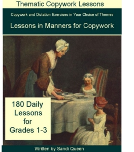Lessons in Manners For Copywork