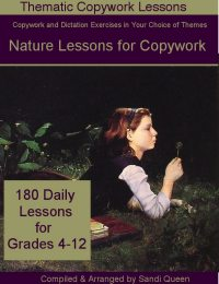 Nature Lessons for Copywork - eBook