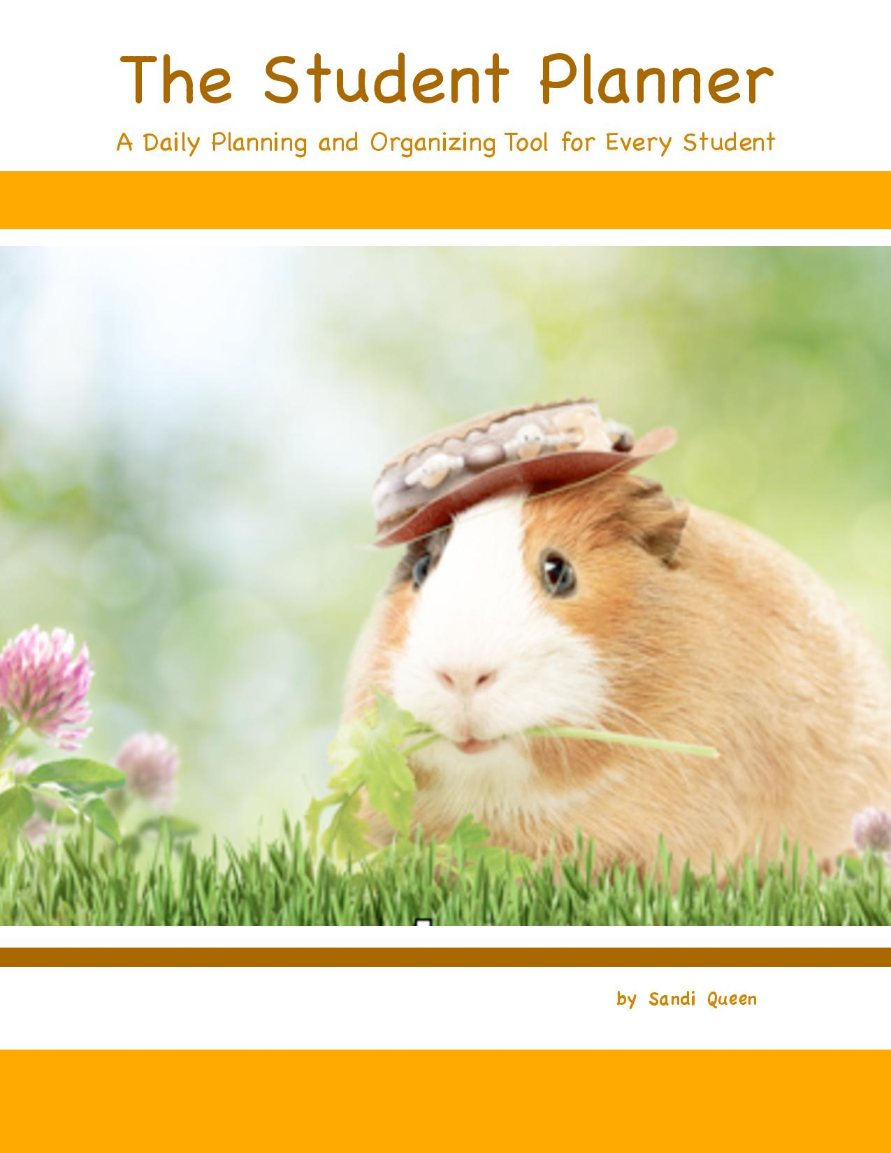 Student Planner: Guinea Pig